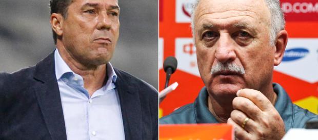 Luxemburgo e Felipão são opções para assumir o Palmeiras