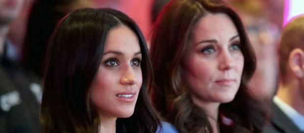Meghan Markle y Kate Middleton en medio de una amistad naciente