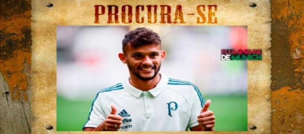 Torcida do Fluminense não perdoa Gustavo Scarpa e ironiza meia após vitória sobre o Palmeiras (Foto: Blog Flu de Munich)