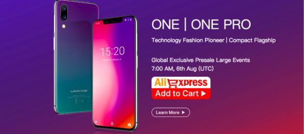 UMIDIGI One|One Pro exclusive presale event at AliExpress. - YouTube/UMIDIGI