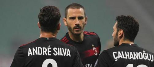Bonucci, centrale difensivo del Milan