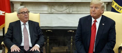 Estados Unidos y la Unión Europea frenan la guerra comercial arancelaria