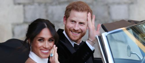 Harry and Meghan's Wedding Car Had Special License Plate   PEOPLE.com - people.com