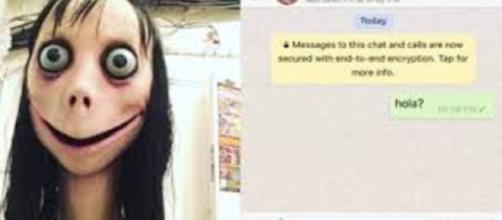 """""""Momo"""" un juego de WhatsApp que se ha hecho viral"""