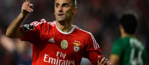 Atacante do Benfica, Jonas foi o artilheiro do último Campeonato Português