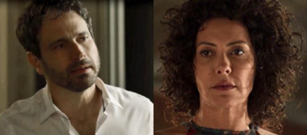 Edgar é chantageado por Roberval, termina com Cacau e acaba apanhando em Segundo Sol (Foto: TV Globo)