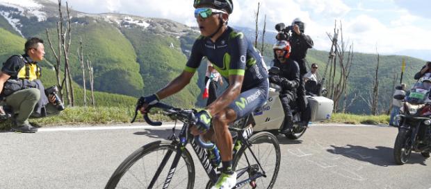 Nairo Quintana escala el Col du Portet y se queda con la etapa 17