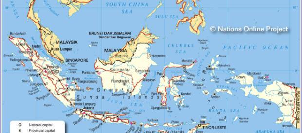 Terremoto Indonesia 2018, isola di Lombok