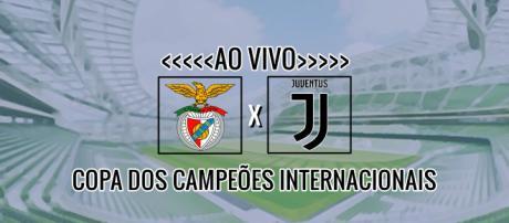 Benfica x Juventus ao vivo: Copa dos Campeões Internacionais