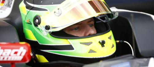 Il pilota Mick Schumacher, figlio dell'ex ferrarista