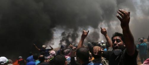 Protestas en Gaza dejan muertos y heridos