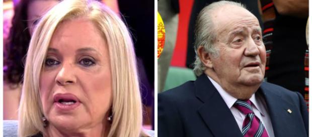 Bárbara Rey habla en Sábado Deluxe diciendo que no cree el testimonio de Corinna