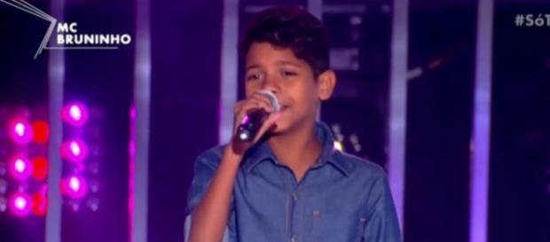 Com apenas 11 anos de idade, MC Bruninho já conquistou o Brasil