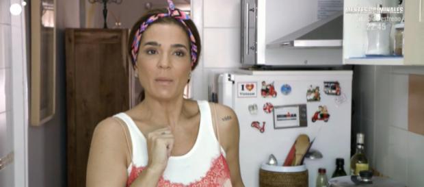 Raquel Bollo mantiene una desagradable bronca con Ángel Garó en 'Ven a cenar conmigo'