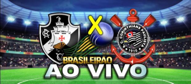 Vasco e Corinthians jogam neste domingo pelo Campeonato Brasileiro