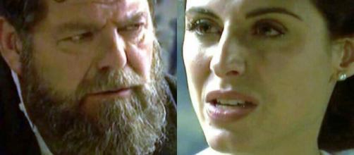 Anticipazioni Il Segreto: Nazaria rivela al marito di essere madre, Mauricio reagisce male