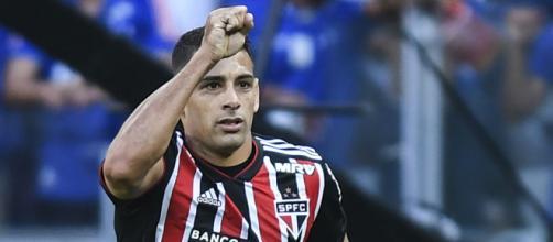 Centroavante fez o seu sexto gol no campeonato, e dez na temporada