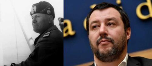 Matteo Salvini usa una frase di Mussolini il giorno della sua nascita