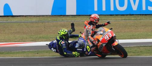 MotoGP: Puig: Marquez-Rossi 'racing incident, we're sorry for it ... - crash.net