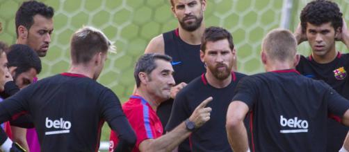 Primer partido amistoso del Barcelona