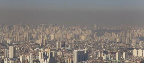 São Paulo, em 2012, quando a cidade registrou sua maior sequência de dias sem chuva