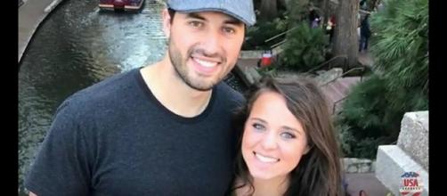 TLC's 'Counting On' star, Jinger Duggar Vuolo, pictured with her husband, Jeremy. [Image Source: USA Express - YouTube]