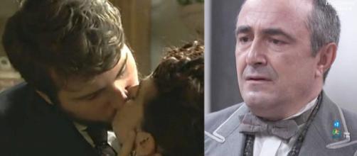 Una Vita: il bacio fra Trini e Benito sconvolge Ramon.