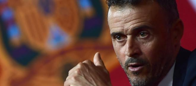 Luis Enrique takes charge as Spain manager