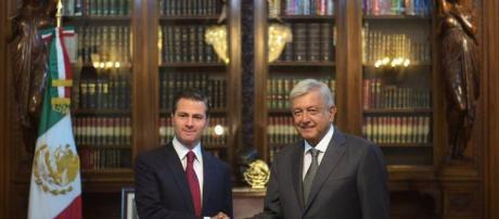 López Obrador se reúne con Peña Nieto para afinar detalles de la transición
