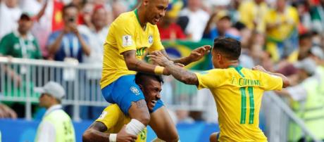 World Cup: Neymar shines as Brazil beat Mexico 2 0 to reach (Image Credit: FIFA2018/Twitter)