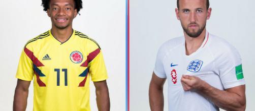 Inglaterra y Colombia se enfrentan en cuartos de final