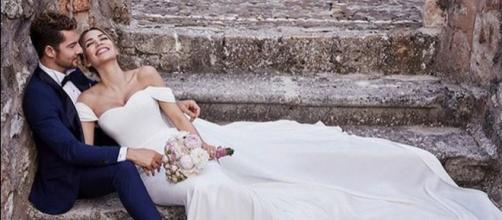 David Bisbal se casa por sorpresa con Rosanna Zanetti en una boda íntima y 'perfecta'