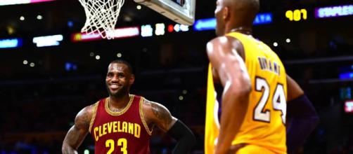 Kobe reacts to LBJ joining Lakers - (Image: YouTube/Lakers)