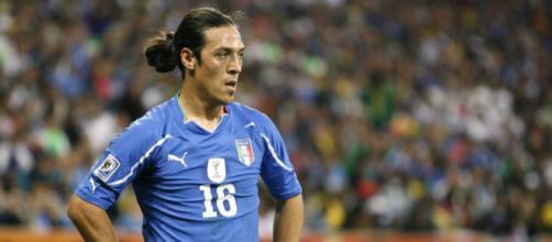 Mauro Camoranesi, campione del mondo con l'Italia nel 2006
