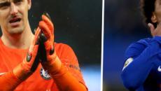 Rumor/ Real Madrid fez proposta ao Chelsea por Willian e Courtois, afirma jornal