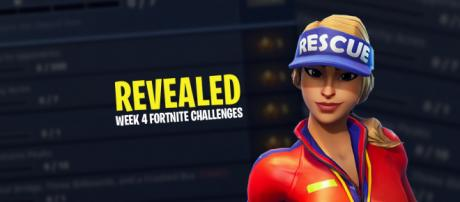 'Fortnite Battle Royale' week 4 challenges have been revealed. [Image Credit: Asmir Pekmic]