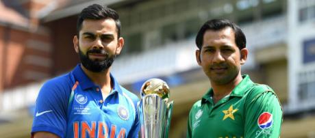 India and Pakistan face-off at the Asia Cup 2018 in Dubai. (Image Credit: BCCI/Twitter)
