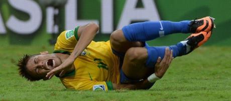 Mais uma vez, internet ri de Neymar