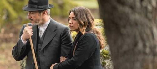 Anticipazioni Il Segreto: Emilia e Alfonso lasciano Puente Viejo