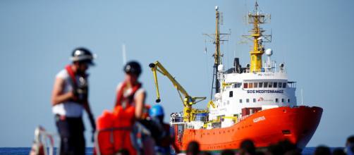 Llegada de migrantes de procedencia africana a puertos de Italia