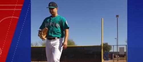 Marco Gonzales with the Seattle Mariners. - [Seattle Mariners / YouTube screencap]