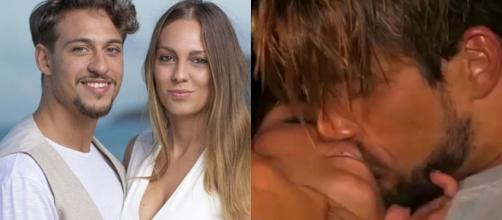 Temptation Island, Martina e Andrew si baciano