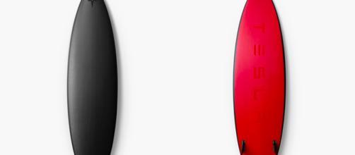 Tesla ahora vende tablas de surf diseñadas en fibra de carbono