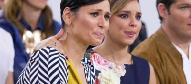 Chenoa, Rosa y Nuria Fergó, reunión de triunfitas en la gala Global Gift