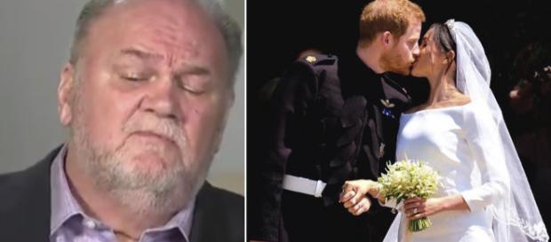 El padre de Meghan Markle levanta polémica con sus declaraciones