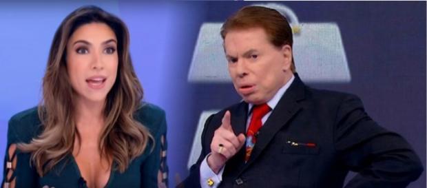 Silvio e Patrícia discutem na frente de todos