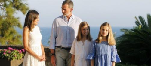 La Familia Real en un posado en Mallorca