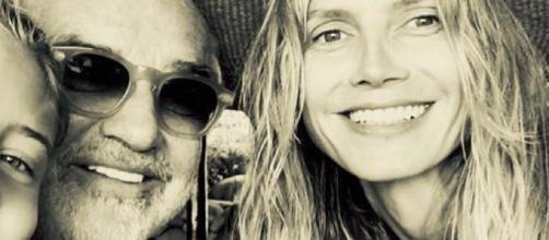 Prima foto di famiglia per Flavio Briatore, Heidi Klum e la loro figlia Leni