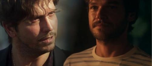 Remy é espancado pelo irmão, na novela Segundo Sol