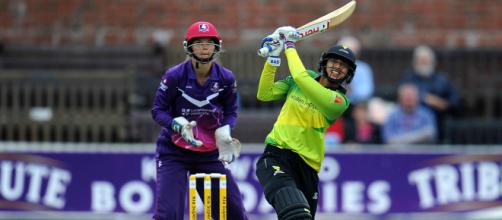 Smriti Mandhana equals Sophie Devine's mark with 18-ball 50 - (icc-cricket.com/Twitter)